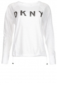 DKNY Sport |  Logo-printed sports top Hailee | white  | Picture 1