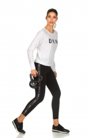 DKNY Sport |  Logo-printed sports top Hailee | white  | Picture 3