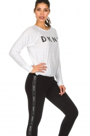 DKNY Sport |  Logo-printed sports top Hailee | white  | Picture 5