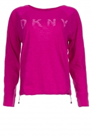 DKNY Sport |  Logo-printed sports top Hailee | pink  | Picture 1