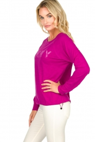 DKNY Sport |  Logo-printed sports top Hailee | pink  | Picture 3