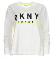 DKNY Sport |  Sweatshirt with logo print Yuw | white  | Picture 1