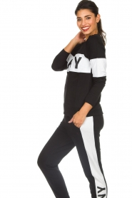 DKNY Sport |  Sweatshirt with brand logo Opey | black  | Picture 4