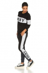 DKNY Sport |  Sweatshirt with brand logo Opey | black  | Picture 3