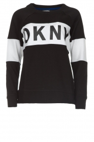 DKNY Sport |  Sweatshirt with brand logo Opey | black  | Picture 1