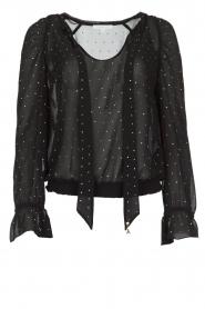 Patrizia Pepe | Blouse Camicia | zwart  | Afbeelding 1