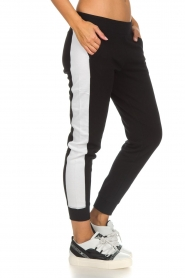 DKNY Sport |  Sweatpants with side stripe Jayde | black  | Picture 4