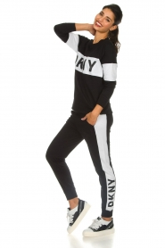 DKNY Sport |  Sweatpants with side stripe Jayde | black  | Picture 3