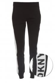 DKNY Sport |  Sweatpants with side stripe Jayde | black  | Picture 1