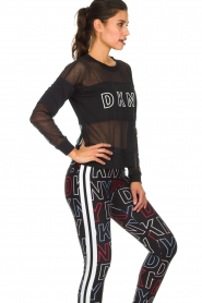 DKNY Sport |  Sports sweater with mesh details Ivey | black  | Picture 4