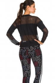 DKNY Sport |  Sports sweater with mesh details Ivey | black  | Picture 5