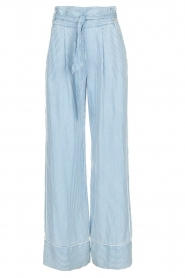 Patrizia Pepe |  Striped pants Will | blue  | Picture 1