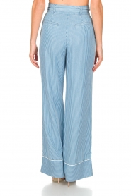 Patrizia Pepe |  Striped pants Will | blue  | Picture 5