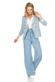 Patrizia Pepe |  Striped pants Will | blue  | Picture 6