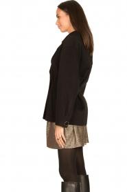 Nenette |  Wool coat Vinile | black  | Picture 6