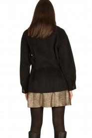 Nenette |  Wool coat Vinile | black  | Picture 7