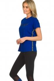 DKNY Sport |  Logo print T-shirt Merize | blue  | Picture 4