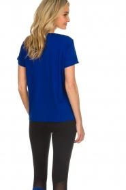 DKNY Sport |  Logo print T-shirt Merize | blue  | Picture 5