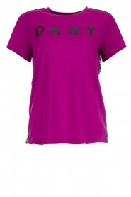 DKNY Sport |  Logo print T-shirt Merize | pink  | Picture 1