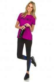 DKNY Sport |  Logo print T-shirt Merize | pink  | Picture 3