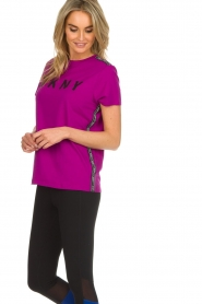 DKNY Sport |  Logo print T-shirt Merize | pink  | Picture 4