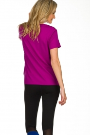 DKNY Sport |  Logo print T-shirt Merize | pink  | Picture 5