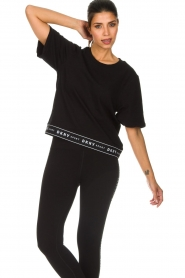 DKNY Sport |  Sports sweater Daisy | black  | Picture 2
