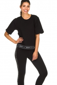 DKNY Sport |  Sports sweater Daisy | black  | Picture 4