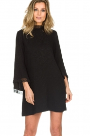 Rosemunde    Dress with lace Toulon   black    Picture 4