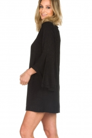 Rosemunde |  Dress with lace Toulon | black  | Picture 5