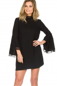 Rosemunde    Dress with lace Toulon   black    Picture 2