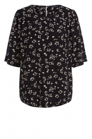 Set |  Printed top Amary | black  | Picture 1