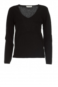 Rosemunde |  Luxurious wool blend sweater Suze | black  | Picture 1