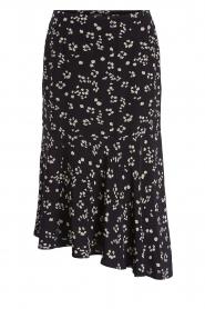 Set |  Printed midi skirt Ryllis | black  | Picture 1