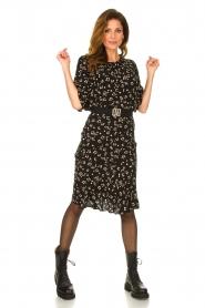 Set |  Printed midi skirt Ryllis | black  | Picture 3