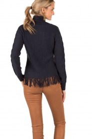 Knitted cardigan Ibis | blue
