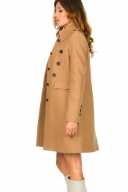 Set |  Woolen coat Ilex | camel  | Picture 5