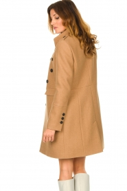 Set |  Woolen coat Ilex | camel  | Picture 6