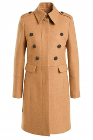 Set |  Woolen coat Ilex | camel  | Picture 1