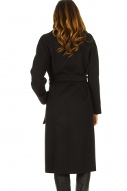 Set |  Luxury wrap coat Elegance | black  | Picture 6