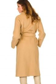 Set |  Luxury wrap coat Elegance | camel  | Picture 8