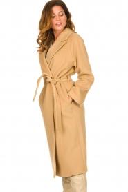Set |  Luxury wrap coat Elegance | camel  | Picture 7