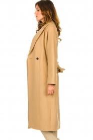 Set |  Luxury wrap coat Elegance | camel  | Picture 5