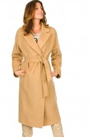 Set |  Luxury wrap coat Elegance | camel  | Picture 6