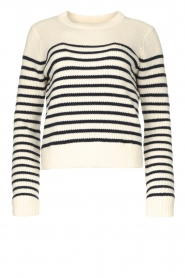 Notes Du Nord |  Knitted sweater Amina | blue  | Picture 1