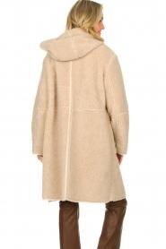 Set    Faux lammy coat Rail   beige    Picture 7