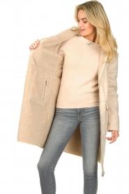 Set    Faux lammy coat Rail   beige    Picture 5