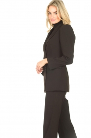 Notes Du Nord    Blazer with puff sleeves Anabelle   black    Picture 7