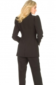 Notes Du Nord    Blazer with puff sleeves Anabelle   black    Picture 8