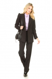 Notes Du Nord    Blazer with puff sleeves Anabelle   black    Picture 3